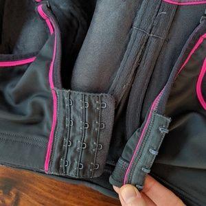 Cacique Intimates & Sleepwear - Cacique sport bra grey pink size 42DD